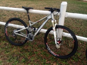 "Niner Jet9 mountain race bike ""Jethro"""