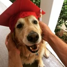 At Taylor's graduation from NCSU